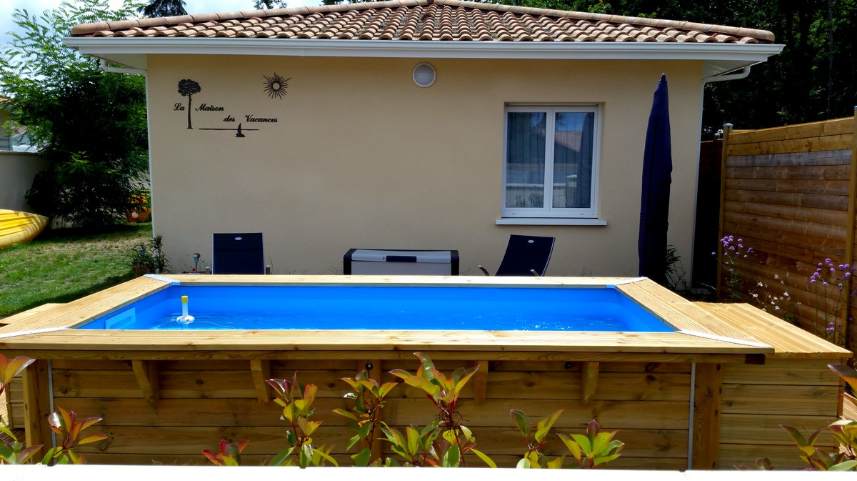 Location maison vacances piscine cazaux bassin arcachon - Location maison piscine arcachon ...